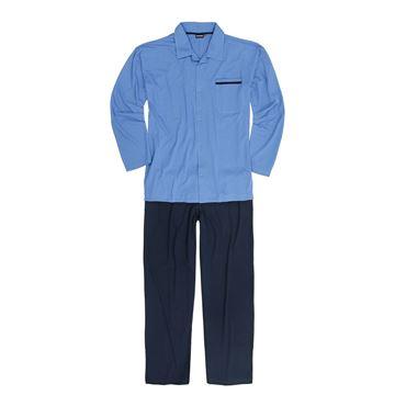 Image de Pyjama long boutonné Adamo