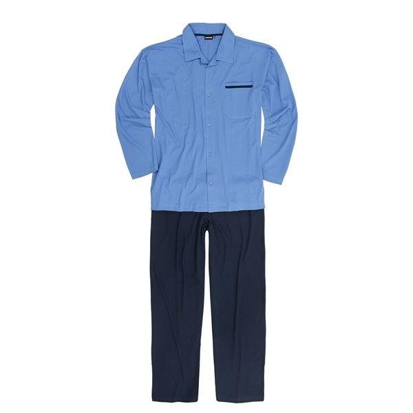 Image sur Pyjama long boutonné Adamo